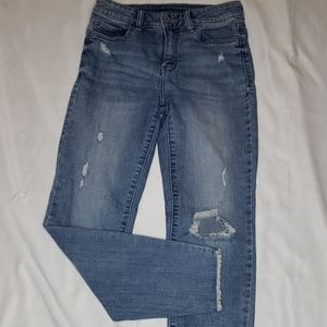 Eunina Clara High Rise Skinny Crop Jeans